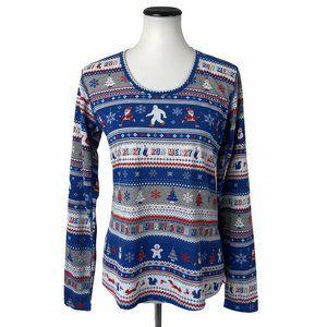 NWT Brooks Run Merry Graphic Tee Shirt #165